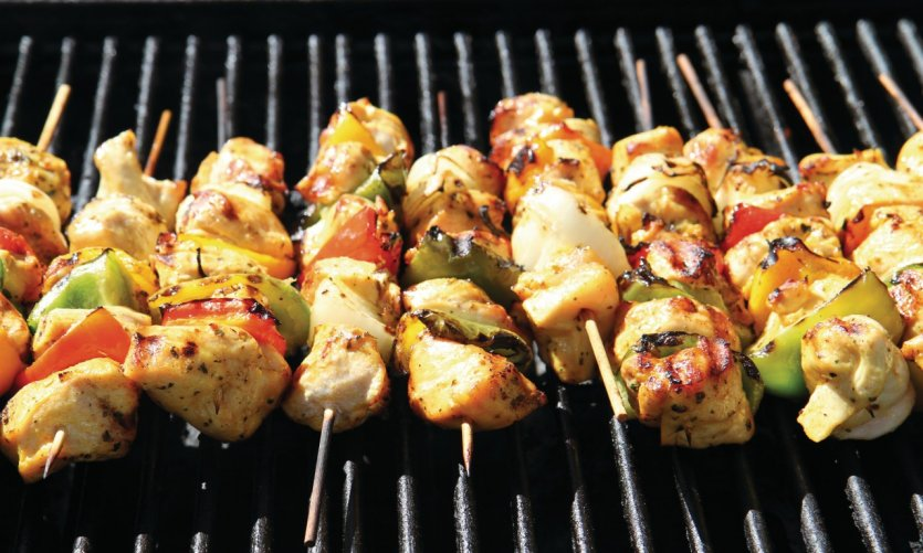Brochettes mexicaines.