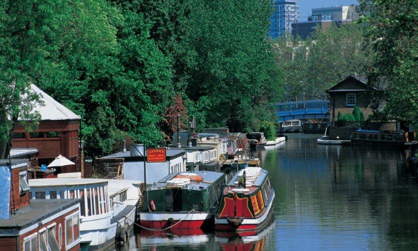 Little Venice ou le charme indéniable des canaux de Londres.