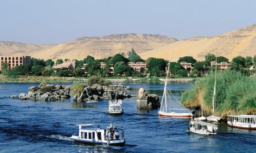 Assouan, ville de Basse Nubie.
