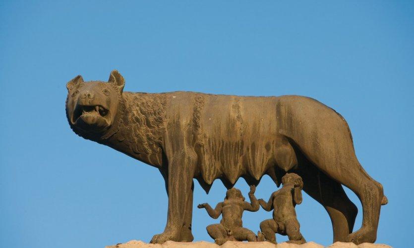 Romulus et Remus.