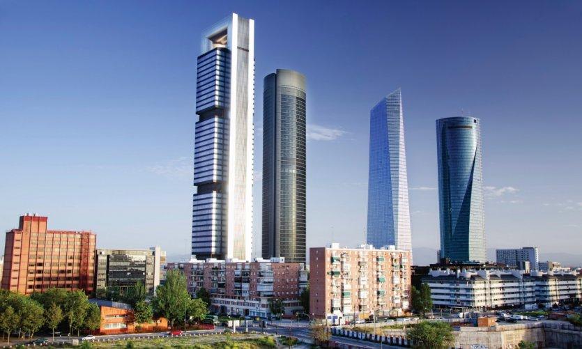 Centre d'affaires Cuatro Torres.