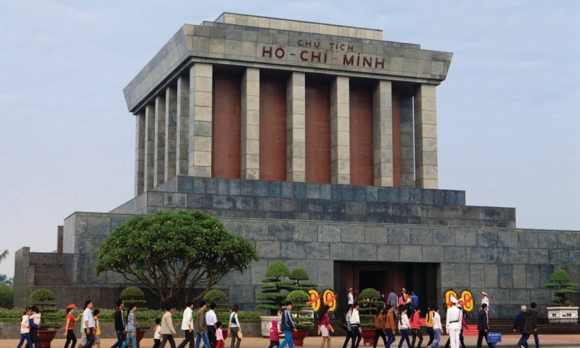 Mausolée du président Hô Chi Minh.