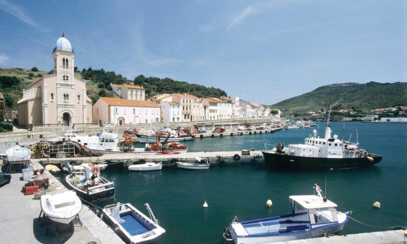 Port-Vendres est le port de pêche le plus important du département
