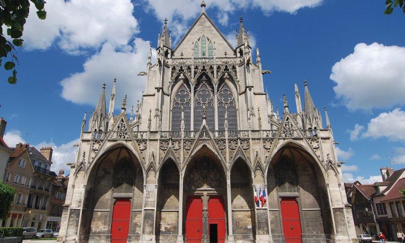 La basilique Saint-Urbain de Troyes