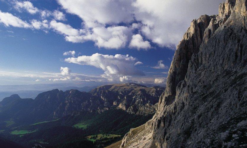 Paysage de montagne, Bolzano.