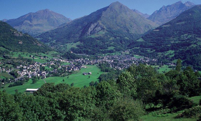 Vue générale de Luz-Saint-Sauveur