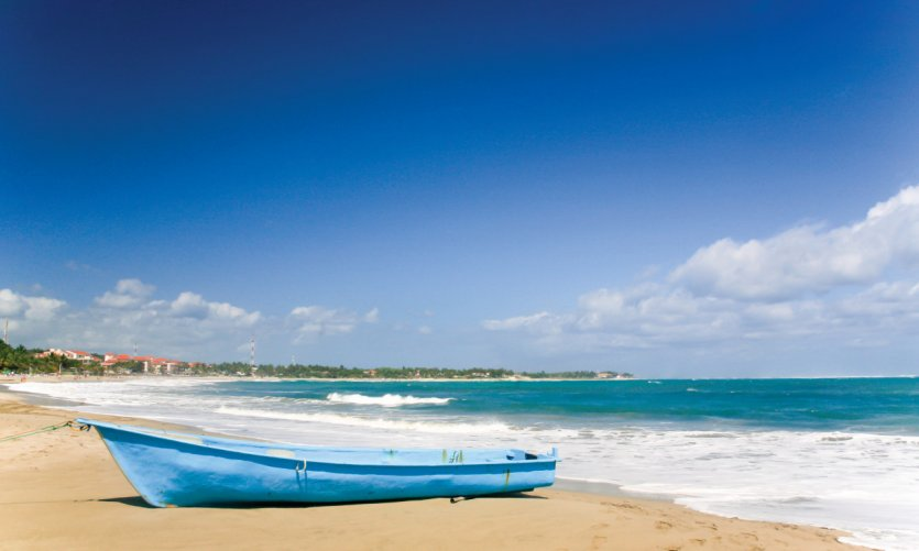 <p>playa de Cabarete.</p>