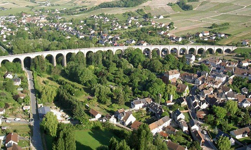 Le Viaduc de Saint-Satur.