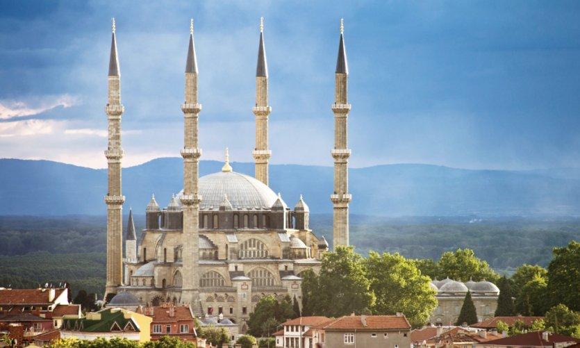 Mosquée Selimiye à Edirne.