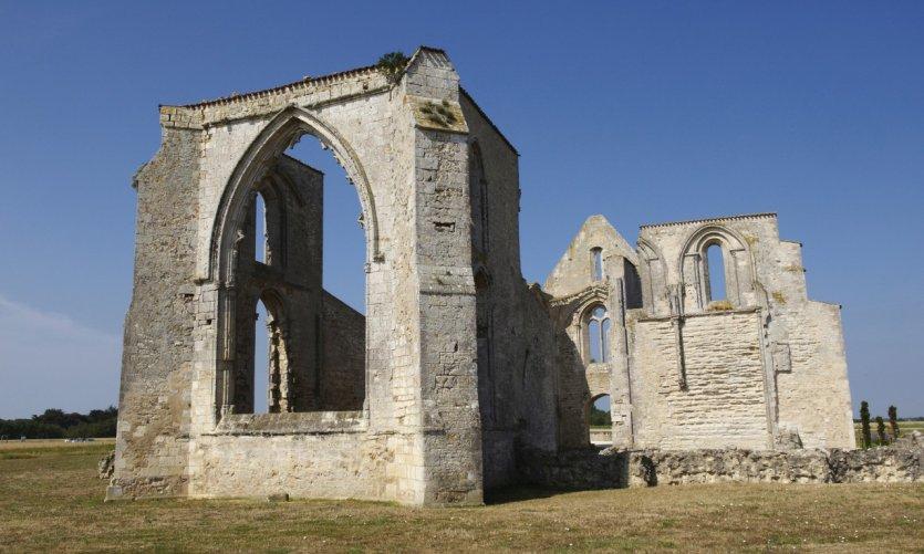L'abbaye des Châteliers à La Flotte