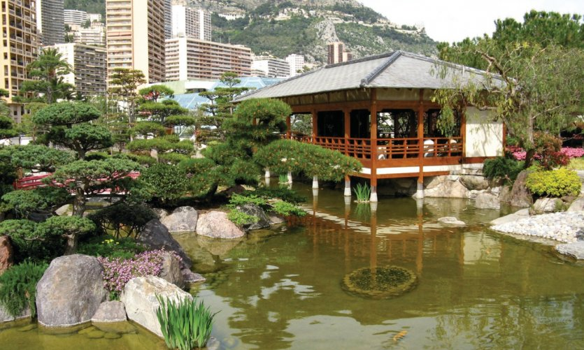 C te d 39 azur monaco guide touristique petit fut for Jardin japonais monaco