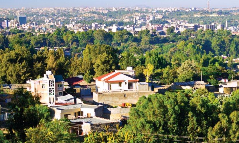 Mékélé, la capitale de la région du Tigré.