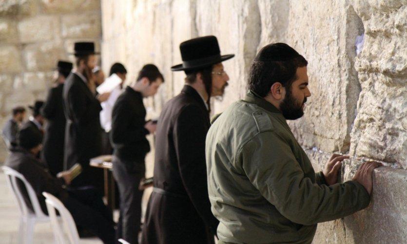 Le mur des Lamentations.