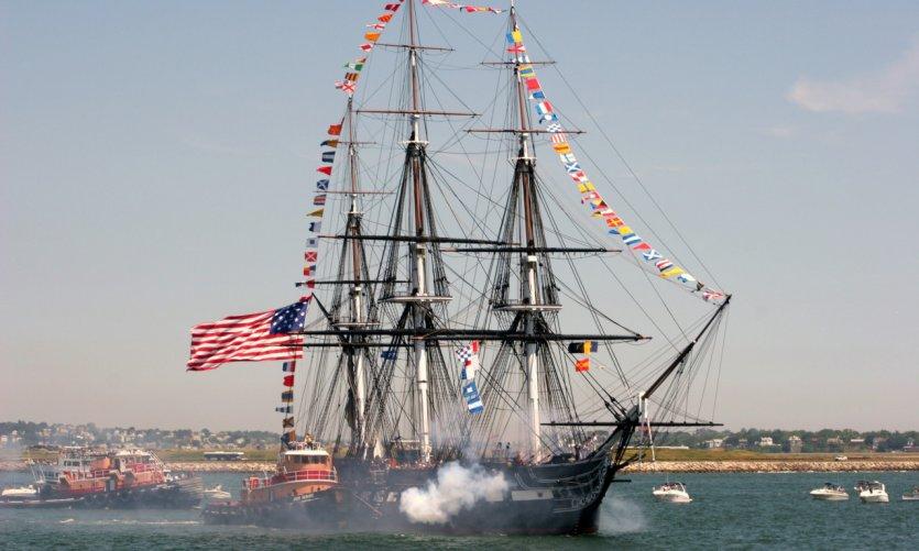 Frégate de l'USS Constitution.