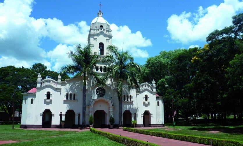Église de San Ignacio Guazú.