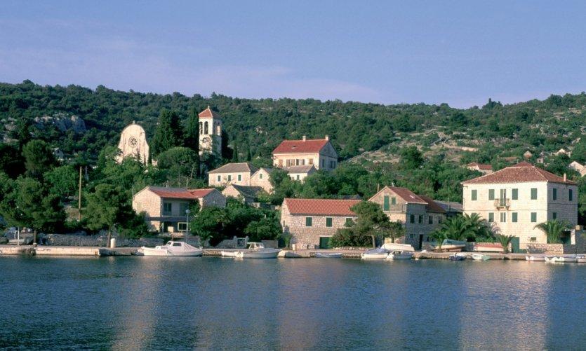 Île de Drvenik Veliki.