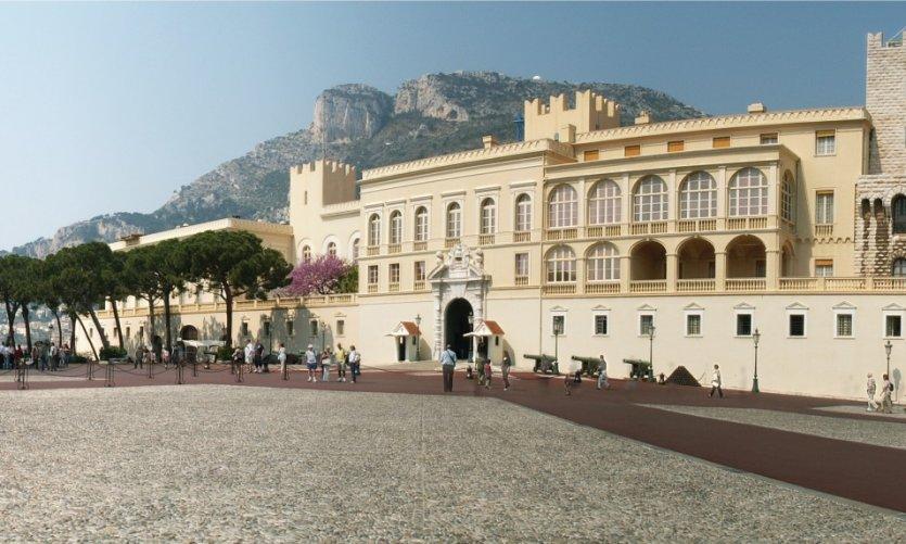 Le Palais princier - Monaco