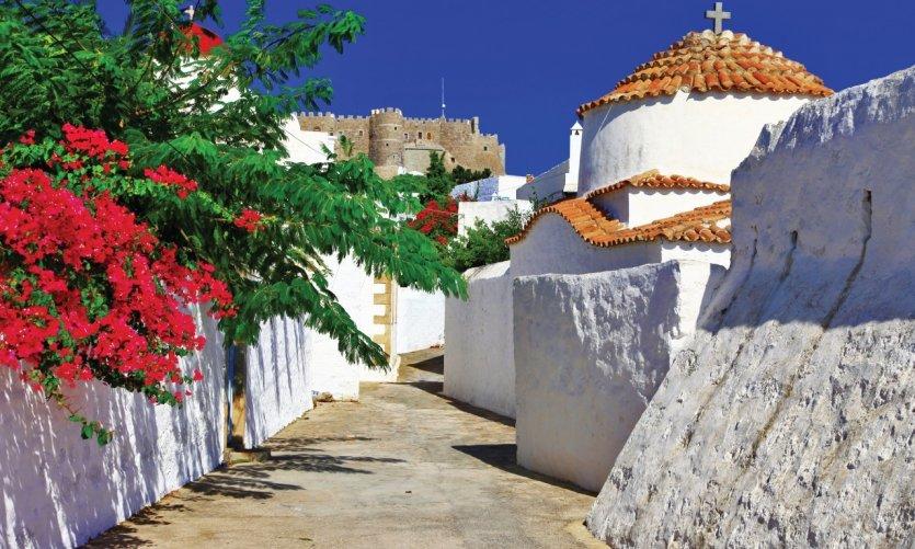 <p>Island of Patmos.</p>