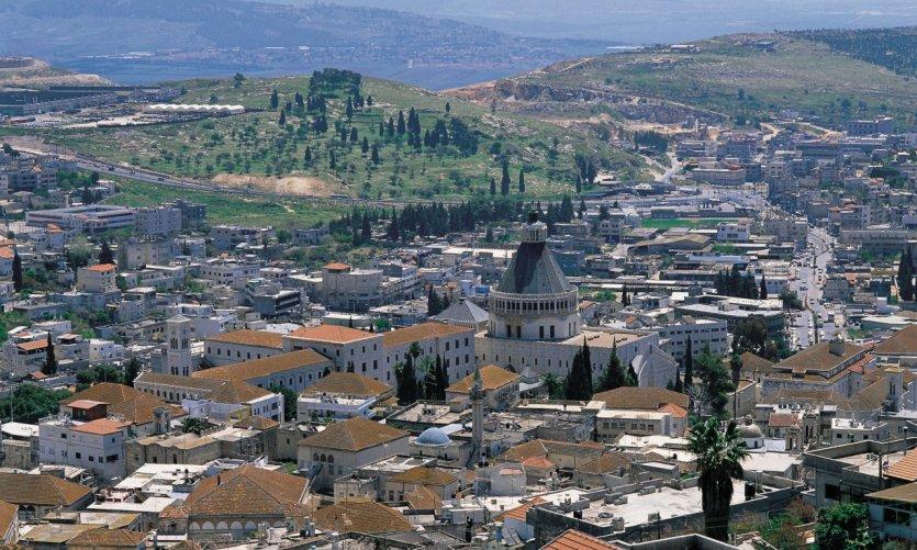 Ville de Nazareth.