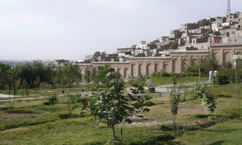 <p>Jardins Gardens where the emperor of the same name is buried.</p>