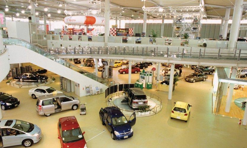 Mega Web - Toyota City Showcase à Palette Town dans le quartier Odaiba.