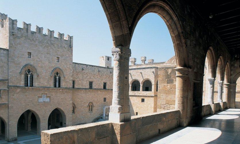 Palais des chevaliers, Rhodes Chora.