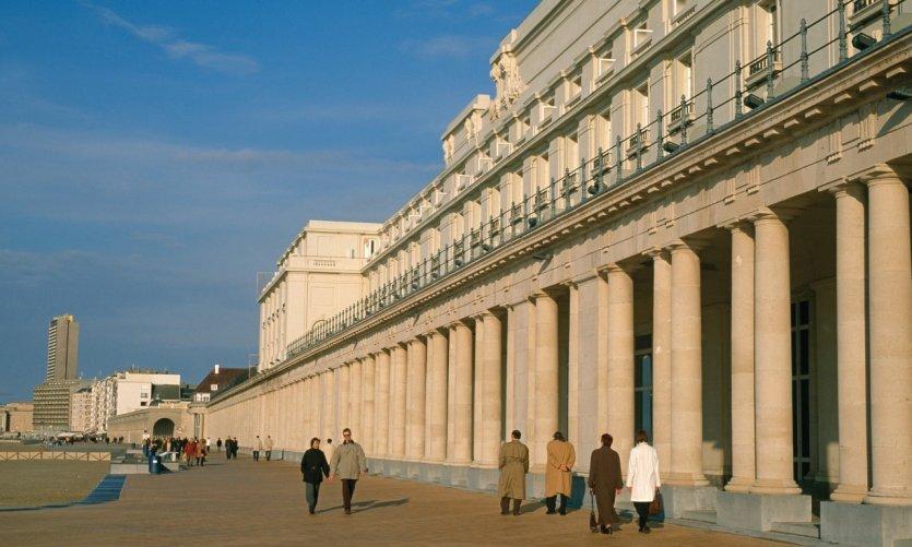 Les Galeries Royales d'Ostende.