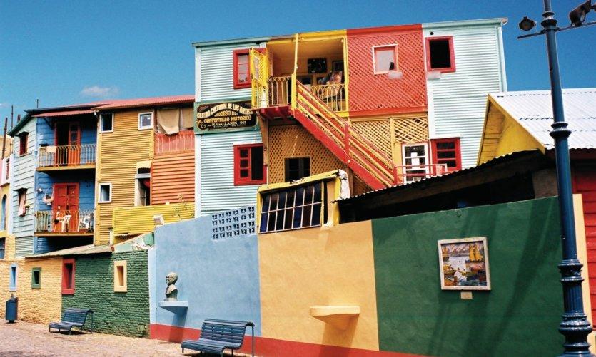 Quartier de La Boca.