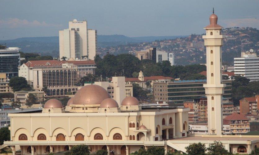 Grande mosquée de Kampala.