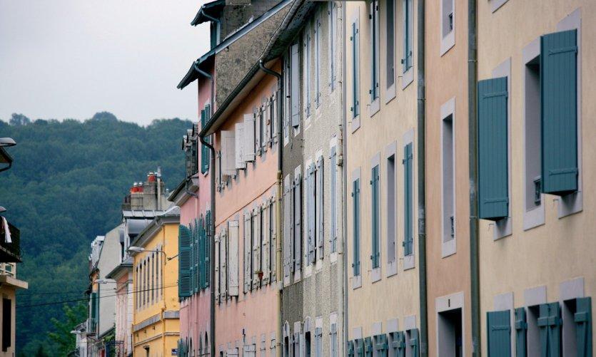Façades au coeur de Bagnères-de-Bigorre