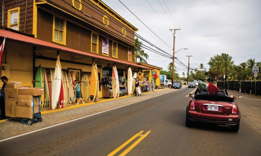 Ciudad de Haleiwa.