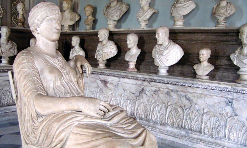 Musée et galerie Borghèse - collection de bustes.