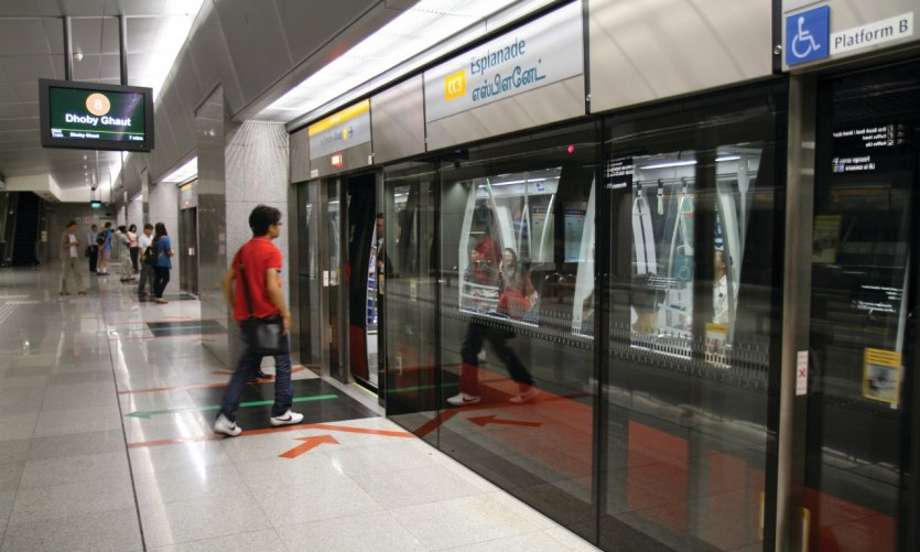 Station Esplanade sur la ligne de métro Circle Line