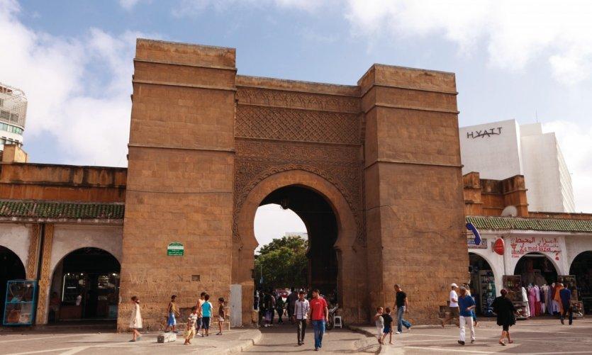 <p>Place and door of Du Jemâa.</p>