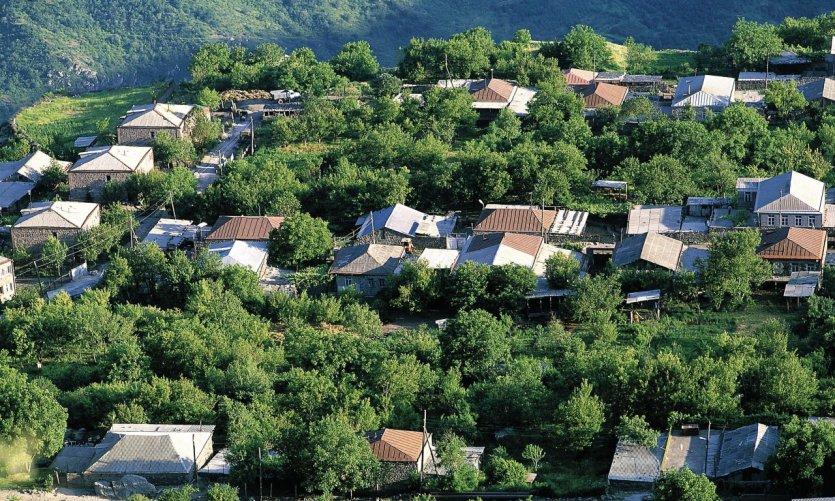 <p>Village in around Goris.</p>