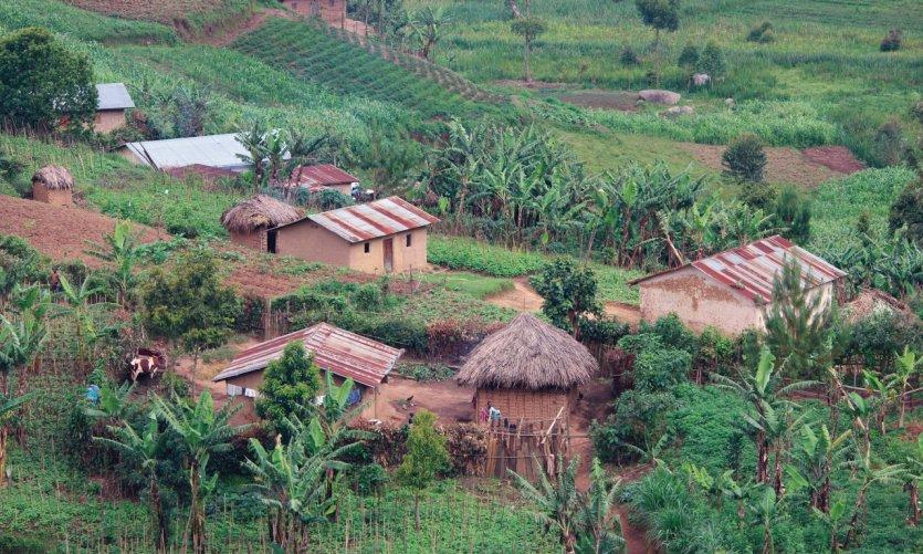 Village dans le Kigezi.