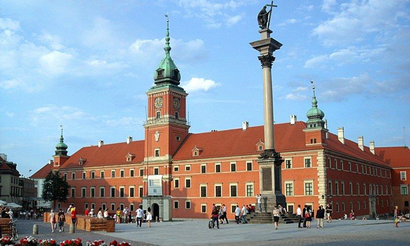 Château Royal de Varsovie.