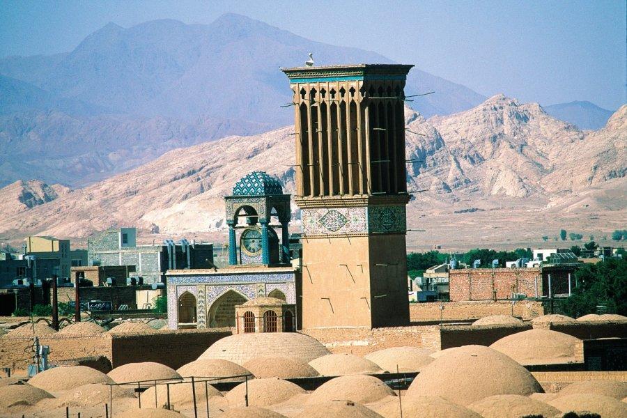 Mosquée du Vendredi, Kerman. (© Hugo Canabi))