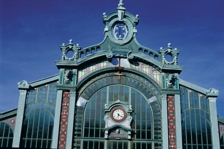 Le marché couvert Fréry à Belfort)