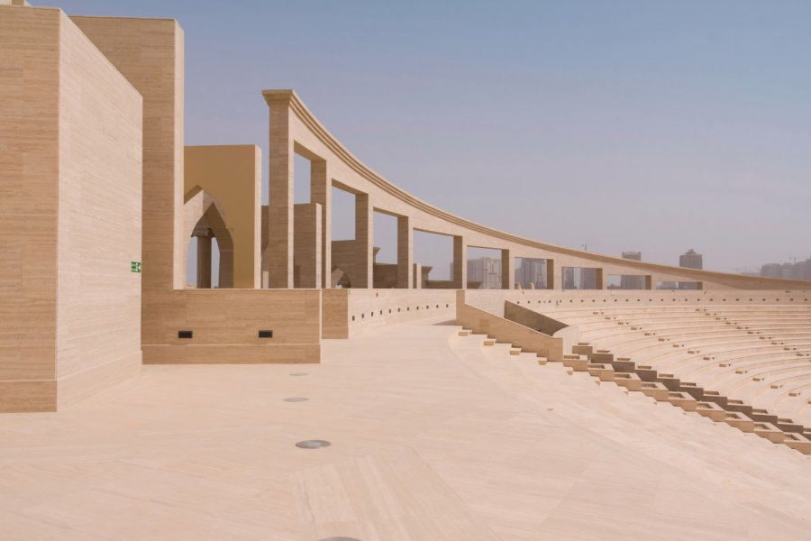 Amphithéâtre de Katara. (© icimage - iStockphoto.com))