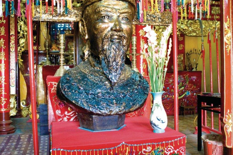 Tombeau de Thoai Ngoc Hau au mont Sam. (© Author's Image))
