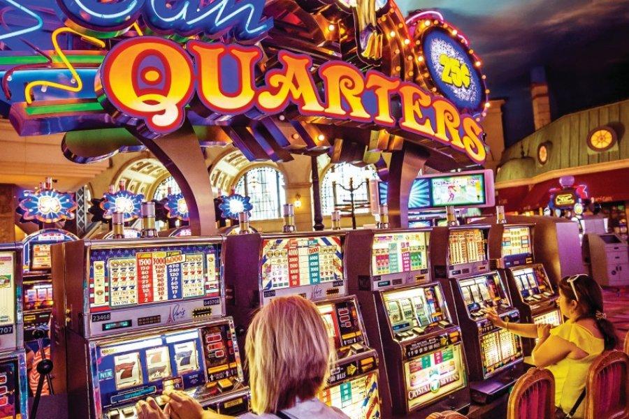 Casino au Paris Las Vegas Hotel. (© Susanne Kremer))
