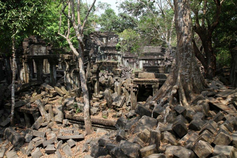 Vestiges du temple de Beng Mealea. (© Stéphan SZEREMETA))