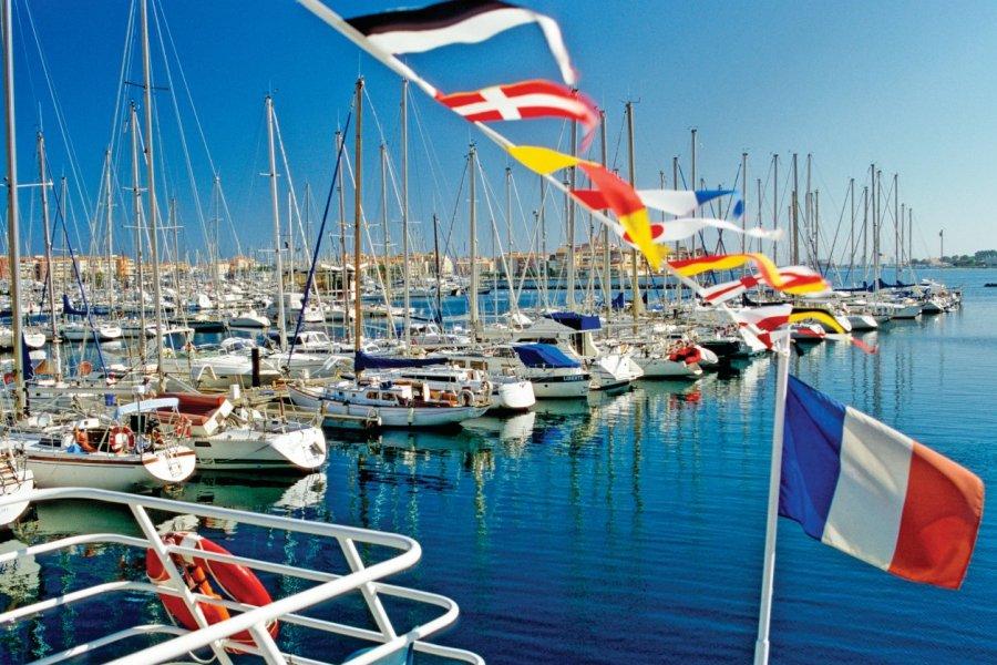 Port de plaisance du Cap d'Agde. (© AGE))