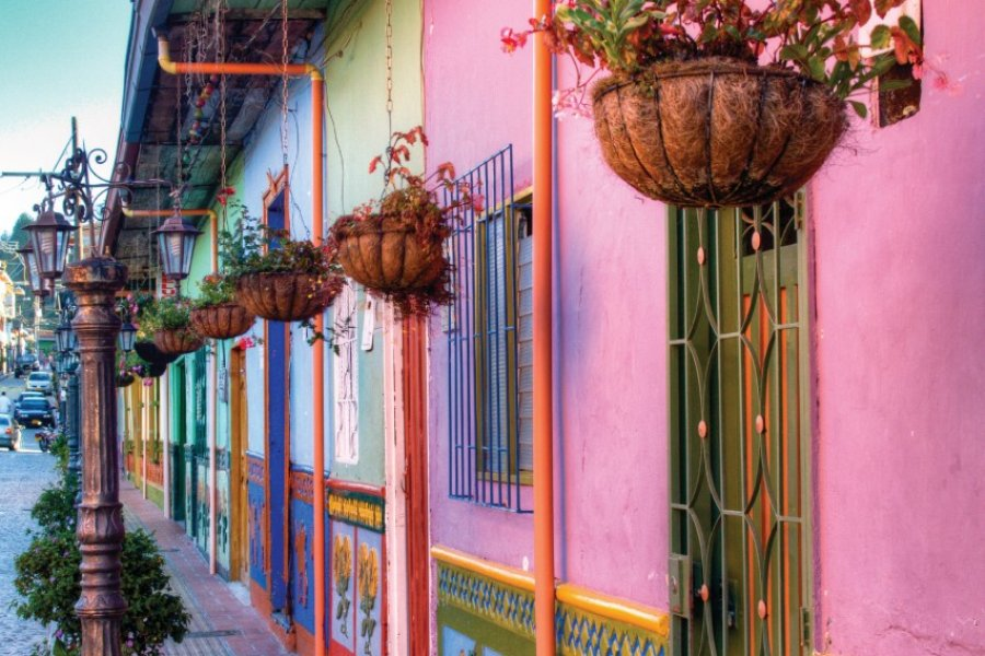 Rues colorées de Guatapé. (© Nicolasdecorte - iStockphoto))