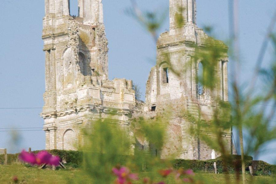 Les vestiges de l'abbaye des Augustins de Saint-Eloi (© Olivier LECLERCQ))