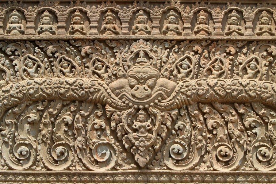 Détails du temple de Chisor. (© Stephan Szeremeta))