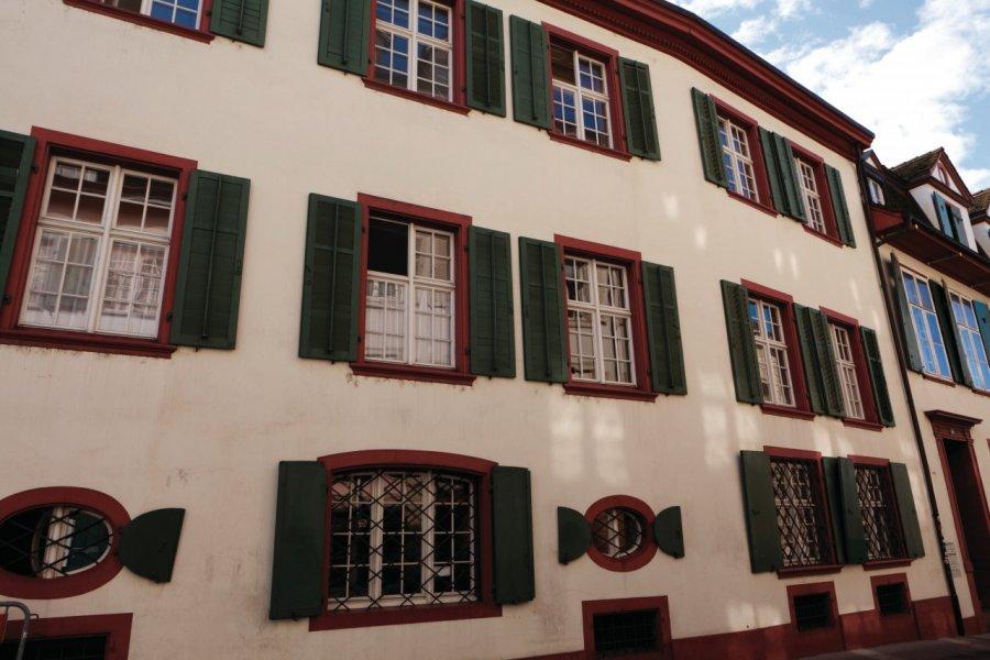 Ancienne demeure médiévale jadis fréquentée par Erasme. (© Philippe GUERSAN - Author's Image))