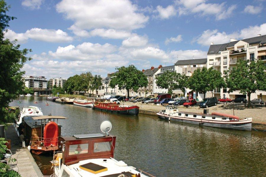 Canal à Nantes (© Nool - Fotolia))