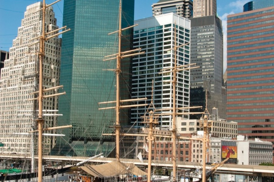 South Street Seaport (Financial District). (© Author's Image))